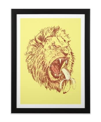 Banana Eating Lion