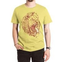 Banana Eating Lion - mens-extra-soft-tee - small view