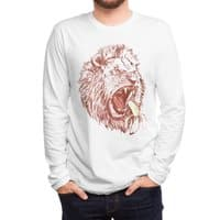 Banana Eating Lion - mens-long-sleeve-tee - small view