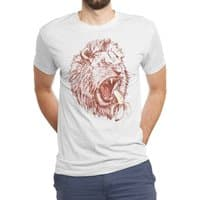 Banana Eating Lion - mens-triblend-tee - small view