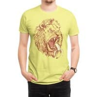 Banana Eating Lion - mens-regular-tee - small view