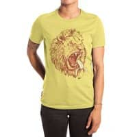 Banana Eating Lion - womens-extra-soft-tee - small view