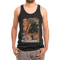 Bowzilla - mens-triblend-tank - small view