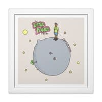Little Fresh Prince - white-square-framed-print - small view