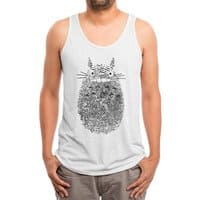 Unusual Fingerprint - mens-triblend-tank - small view