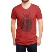 Unusual Fingerprint - vneck - small view