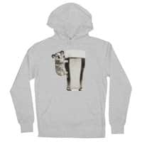 Koala Loves Beer - unisex-lightweight-pullover-hoody - small view