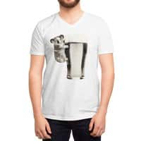 Koala Loves Beer - vneck - small view