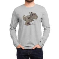 Tyrannosaurus Walkman - mens-long-sleeve-tee - small view