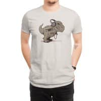 Tyrannosaurus Walkman - mens-regular-tee - small view