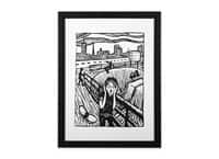 The Scr-Emo - black-vertical-framed-print - small view