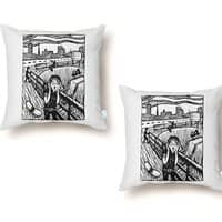 The Scr-Emo - throw-pillow - small view