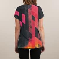 Ylmyst Tyme - womens-sublimated-v-neck - small view