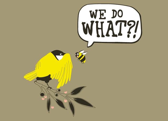 Birds \u0026 The Bees by Tom Lindsay  Threadless