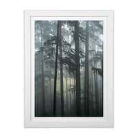 Portland - white-vertical-framed-print - small view