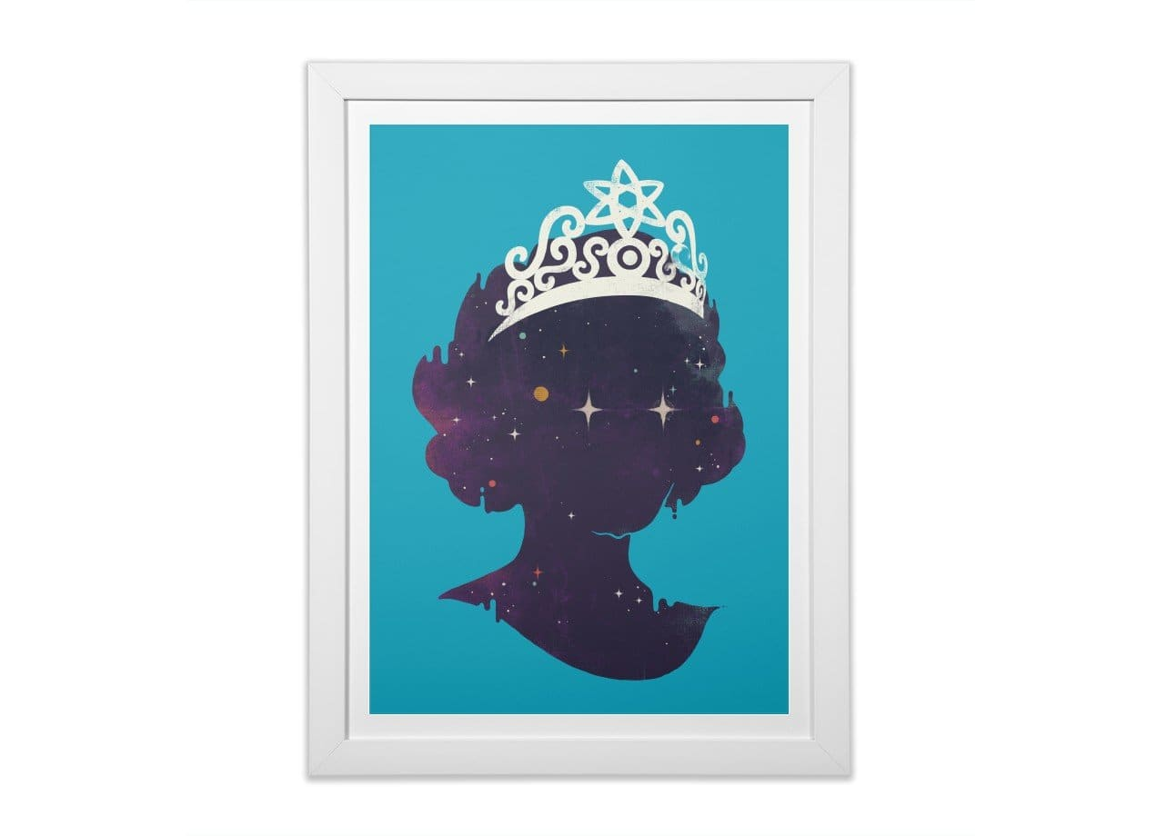 Miss U By Mellin Paulo Bernardo Black Vertical Framed Print Threadless
