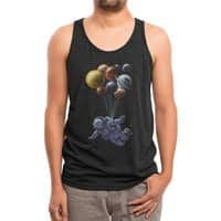 Space Travel - mens-triblend-tank - small view