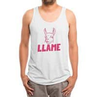 LLAME - mens-triblend-tank - small view