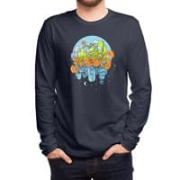 Yeah Attitude - mens-long-sleeve-tee - small view