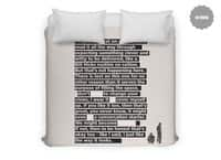 I Want To Be Friends - duvet-cover - small view