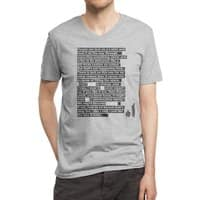 I Want To Be Friends - vneck - small view
