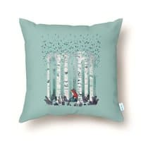 The Birches - throw-pillow - small view