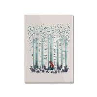 The Birches - vertical-mounted-acrylic-print - small view