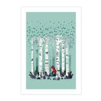 The Birches - vertical-print - small view