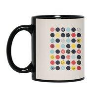 Funky Polka Dots - black-mug - small view