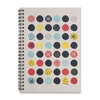 Funky Polka Dots - spiral-notebook - small view