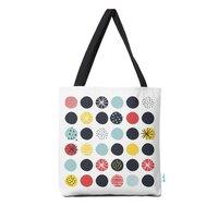 Funky Polka Dots - tote-bag - small view