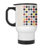 Funky Polka Dots - travel-mug-with-handle - small view