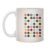 Funky Polka Dots - white-mug - small view