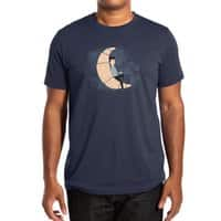 Ze Croissant Moon - mens-extra-soft-tee - small view
