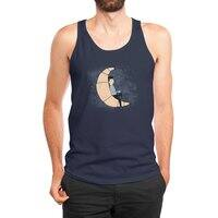 Ze Croissant Moon - mens-jersey-tank - small view