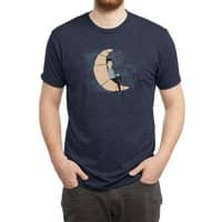 Ze Croissant Moon - mens-triblend-tee - small view