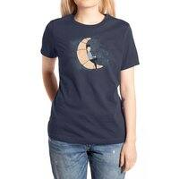 Ze Croissant Moon - womens-extra-soft-tee - small view