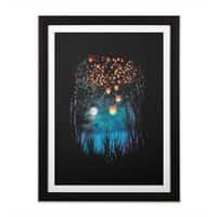 Hope in the Sky - black-vertical-framed-print - small view
