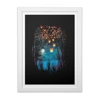 Hope in the Sky - white-vertical-framed-print - small view