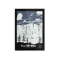 Visit the Wall - vertical-mounted-aluminum-print - small view