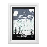 Visit the Wall - white-vertical-framed-print - small view