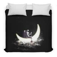 Moon Sailing - duvet-cover - small view