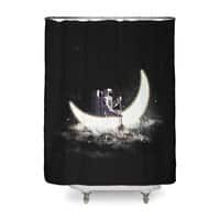 Moon Sailing - shower-curtain - small view