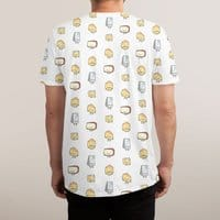 CHEESE DOODLES HOORAY!! - mens-sublimated-tee - small view