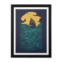 High Seas - black-vertical-framed-print - small view