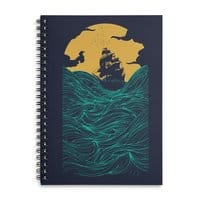 High Seas - spiral-notebook - small view