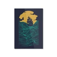 High Seas - vertical-mounted-aluminum-print - small view