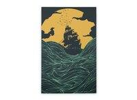 High Seas - vertical-stretched-canvas - small view