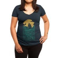 High Seas - womens-deep-v-neck - small view
