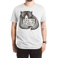Feed Me And Tell Me I'm Pretty - mens-extra-soft-tee - small view
